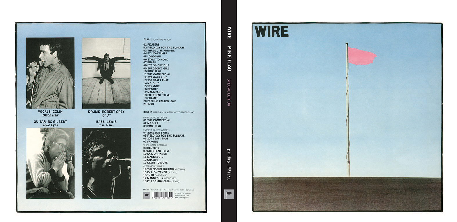 Wire: Pink Flag - RCA Research Online