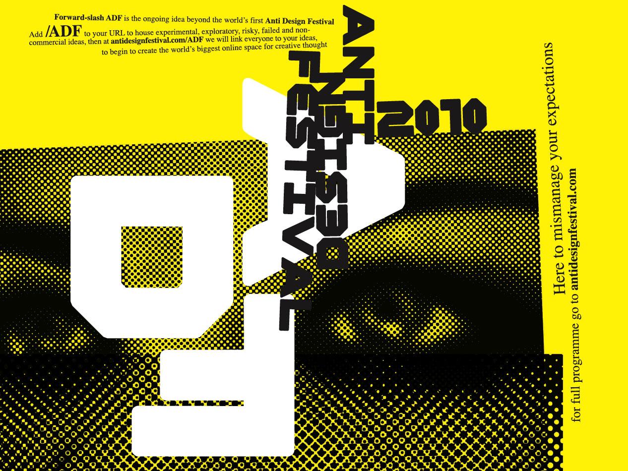 Anti-Design Festival, 2010 - RCA Research Online